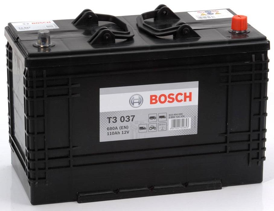 Аккумулятор Bosch T3 110A R+ T3037