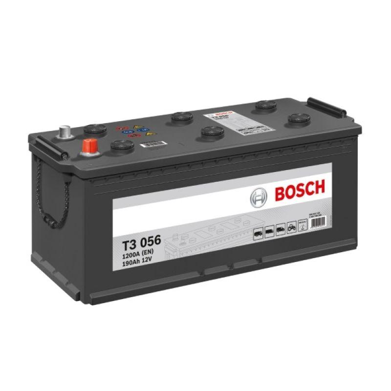 Аккумулятор Bosch T3 190A, R+ T3056