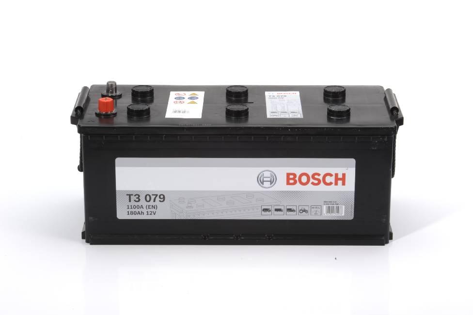 Аккумулятор Bosch T3 180A R+ T3079