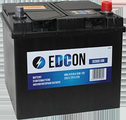 Аккумулятор автомобильный EDCON Asia 60A, R+