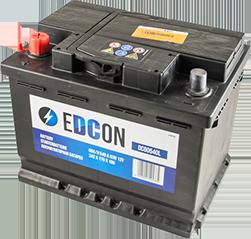Аккумулятор автомобильный EDCON 60A, L+