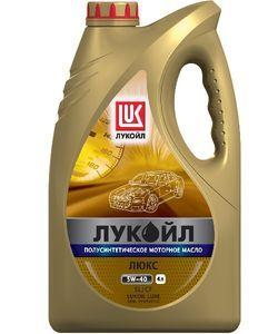 Лукойл Luxe 5W-40 полусинтетика, 4 л.