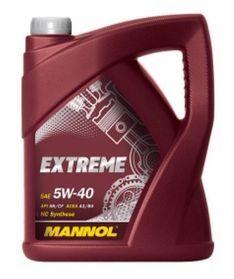 Масло моторное Mannol Extreme 5W-40 синтетика, 4 л.
