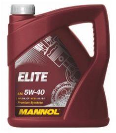 Масло моторное Mannol Elite 5W-40 синтетика, 4 л.