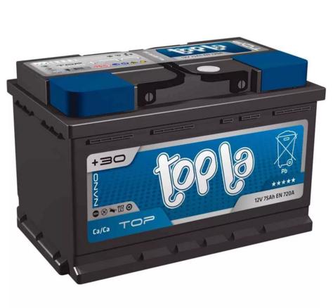 Аккумулятор Topla Top 75A, R+