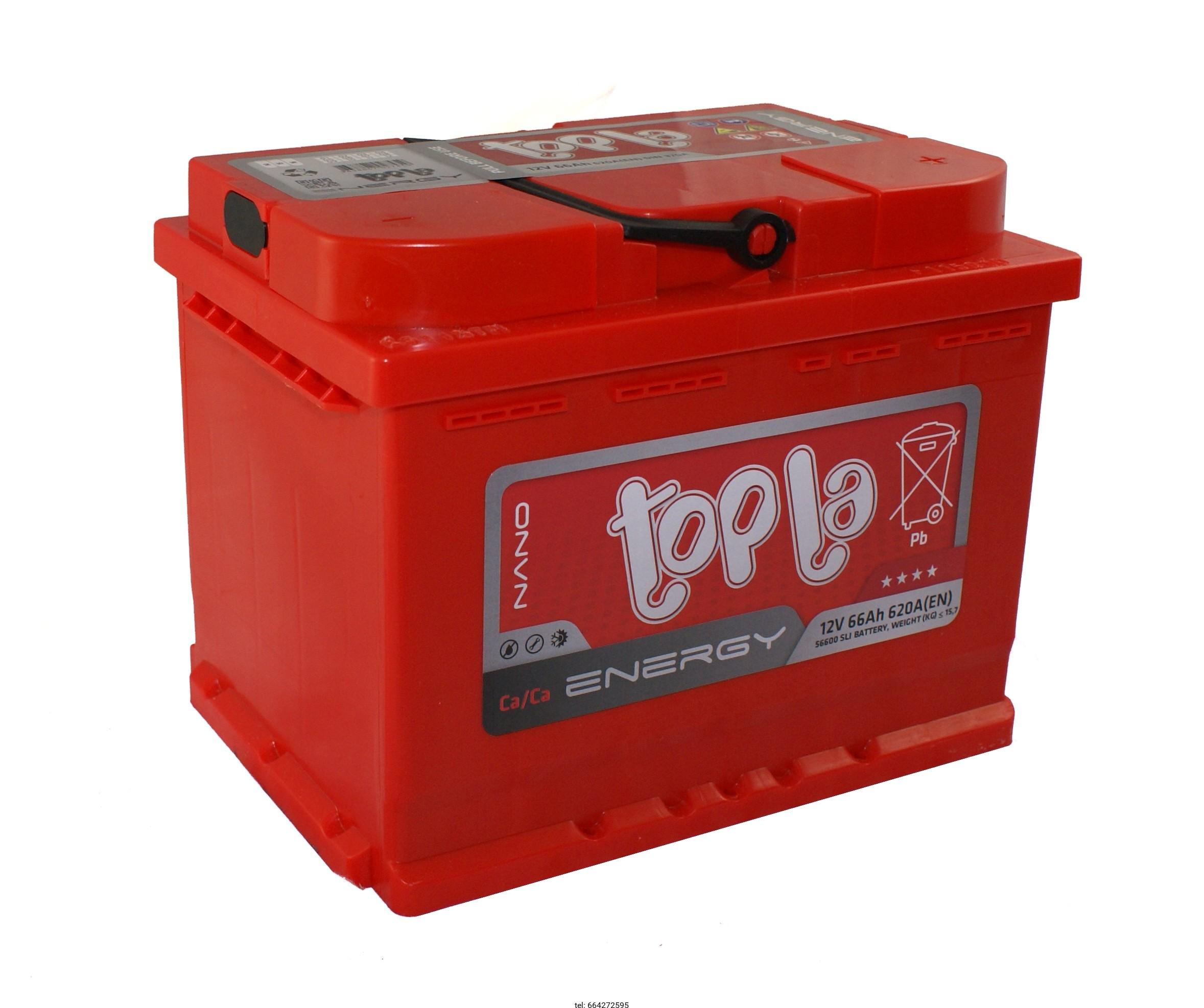 Аккумулятор Topla Energy 66A, R+