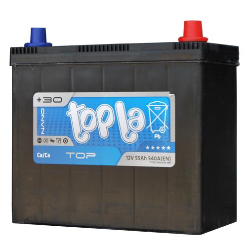 Аккумулятор Topla Top JIS 55A, R+