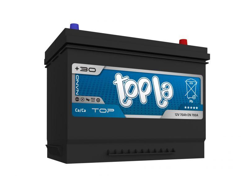 Аккумулятор автомобильный Topla Top JIS Asia 70 R+