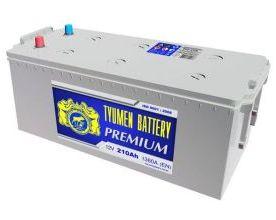 Аккумулятор Тюмень Premium 210 L+