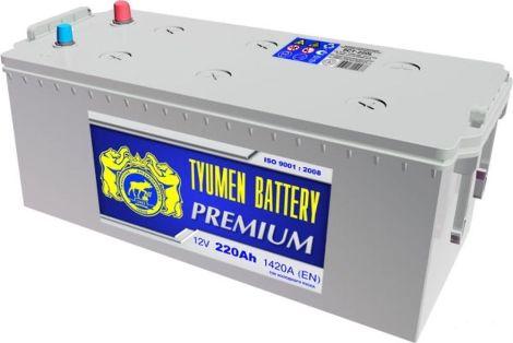 Аккумулятор Тюмень Premium 220 L+