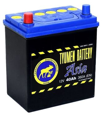 Аккумулятор Тюмень Asia 40 L+