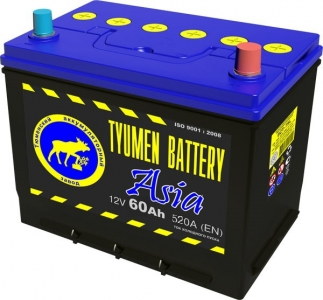 Аккумулятор Тюмень Asia 60 L+