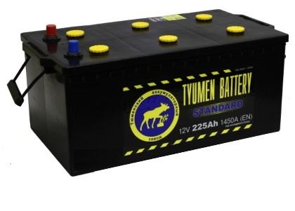 Аккумулятор Тюмень 225 L+