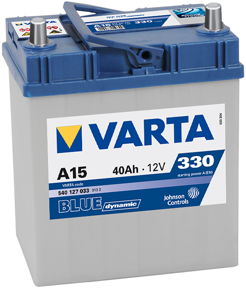 Аккумулятор Varta Blue Dynamic 40Ah 330A L+ 540 127 033