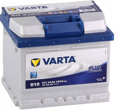 Аккумулятор Varta Blue Dynamic 44Ah 440A, R+ 544 402 044
