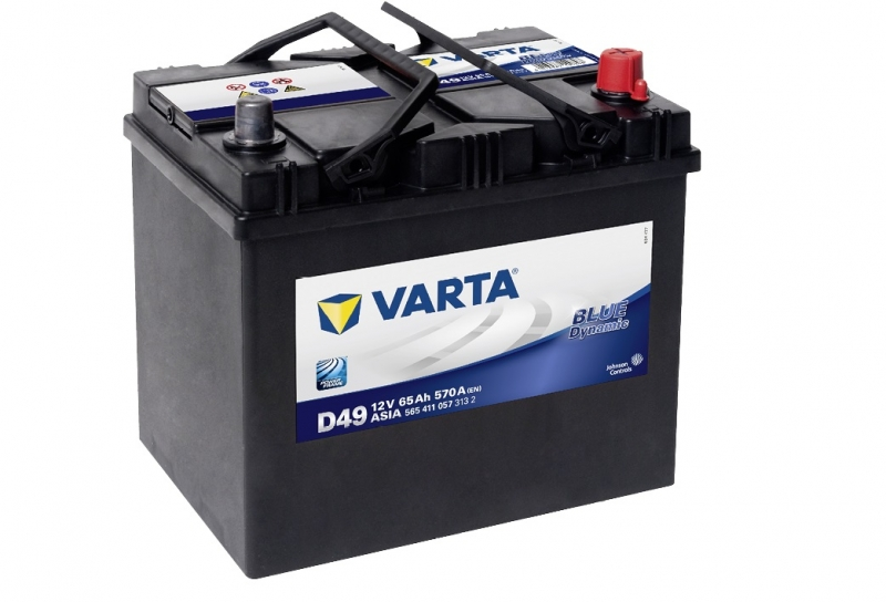 Аккумулятор Varta Blue Dynamic 65Ah 570A, R+ 565 411 057