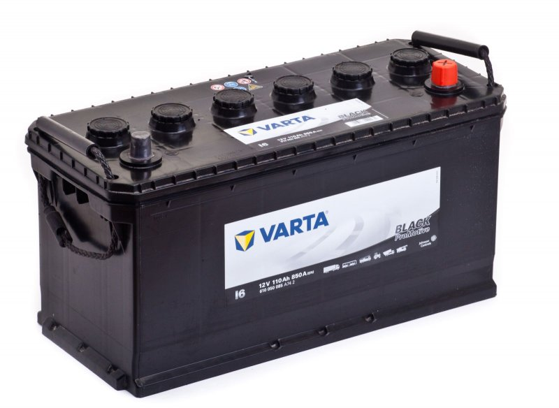 Аккумулятор Varta Promotive Black 110Ah 850A, R+ 610 050 085