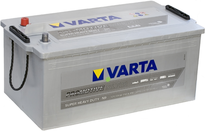 Аккумулятор Varta Promitive Silver 225Ah 1150A, L+ 725 103 115