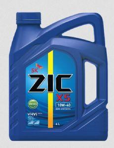 Масло моторное ZIC X5 Diesel 10W-40 полусинтетика, 4 л.