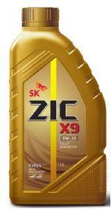 Масло моторное ZIC X9 синтетика 5W-30, 1 л.